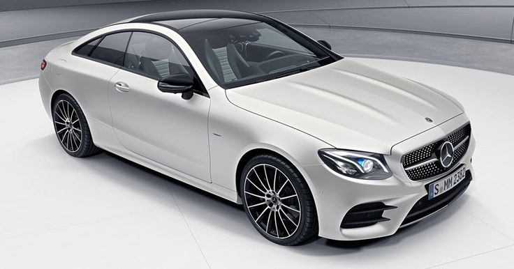 Mercedes-Benz E-Class Coupe Limited Edition 1 Will Come In Just 555 Examples #Mercedes #Mercedes_E_Class