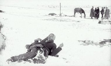 The Wounded Knee Massacre is when most American history books drop American Indians from history.