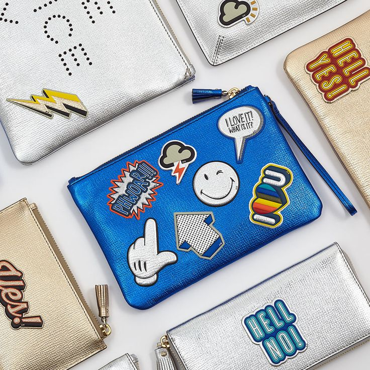 Spring Summer 2016 small accessories #AnyaHindmarch #SpringSummer2016