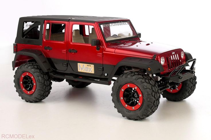 Scale Chassis | Chassis Kit Mex-Jeep JK ARB 1/8 | RCmodelex - specialized for RC rock crawling, trial and expeditions