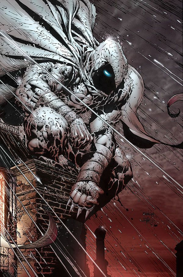 One of the most underated comic book heroes! Contrary to popular belief, Moon Knight is not a Batman copy.