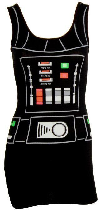 Amazon.com: Star Wars I Am Darth Vader Costume Adult Tank Dress: Clothing