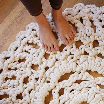 76 best Sticka   virka images on Pinterest Hand crafts, Knit - teppich für küche
