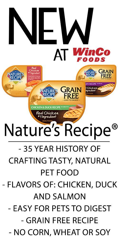 Winco Grain Free Dog Food