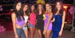 Sensations ladyboy bar Pattaya