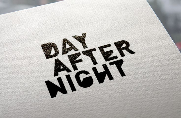 Day After Night: Corporate Identity | Michele Franzese #michelefranzese #theredislove #rosso #corporate #identity #logo #design #day #after #night #events #agency