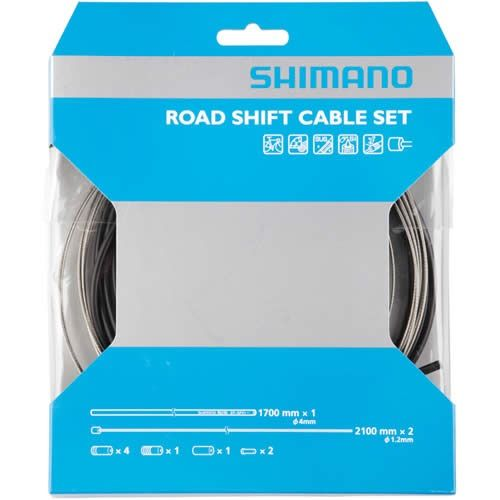 Shimano Road Gear Cable Set With Stainless Inner Wire | Merlin Cycles