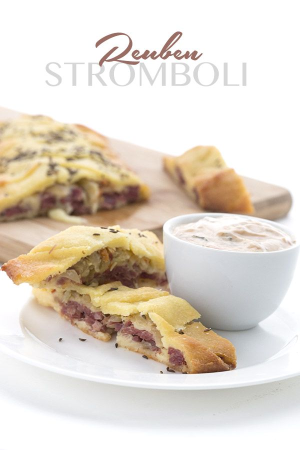 This delicious keto pastry braid is stuffed with the best parts of a classic Reuben Sandwich. A great way to use leftover corned beef. LCHF Keto Banting THM Recipe. via @dreamaboutfood