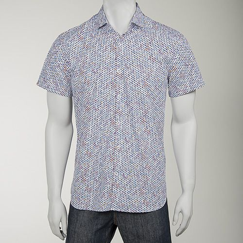 Rewards for Good: Merchandise: Clearance: Stone Rose Floral Polka Dot Shirt Another really ugly shirt!!! And you wouldn't believe the price, for this and the last one I posted!