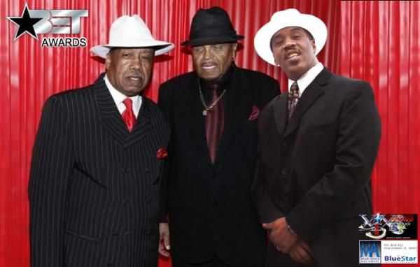 Famous label owners Marshall Thompson [The Chi-Lites], Joe Jackson[Jackson 5] and Johnnie Gee Giasia Records.