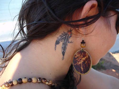 feathers<3Tattoo Ideas, Pattern Tattoo, Tattoo Pattern, Neck Tattoo, A Tattoo, Tattoo Design, Feathers Tattoo, Cute Tattoo, Native American