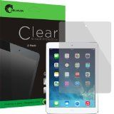Apple iPad Air / iPad 5 2 Pack Premium Screen Protector HD Clear