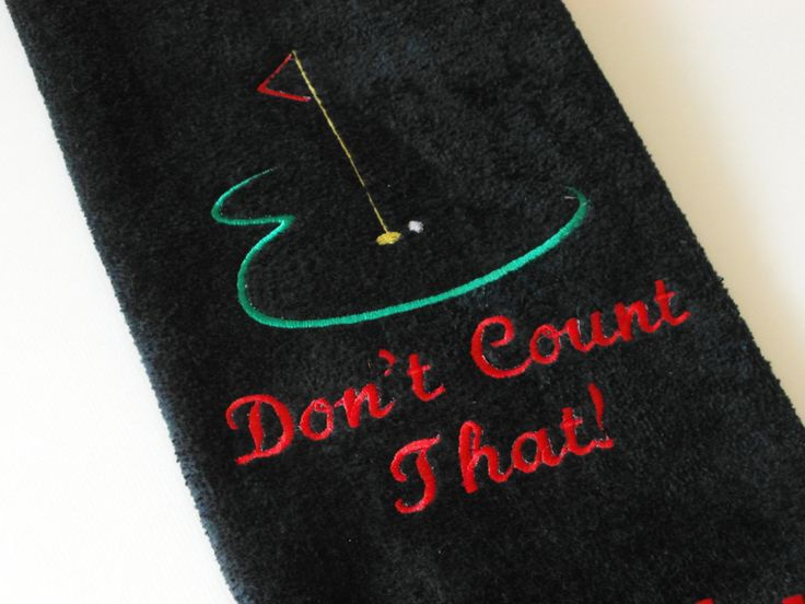 Custom Golf Towel, Personalized Golf Towel; Embroidered Golf Towel; Embroidered Bar Towel, Personalized Hand Towel, Simply Soft Creation by CreationsbyBernie on Etsy