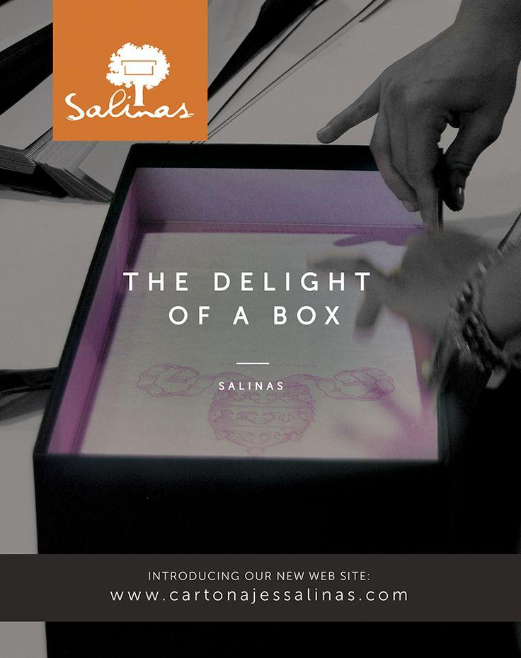 The delight of a box. www.cartonajessalinas.com