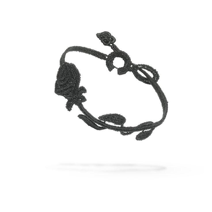 Cruciani Rose Flower Bracelet  #rose #flower #bracelet