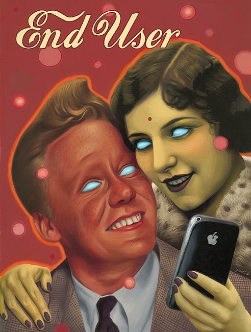 "Alex Gross ""End User"""