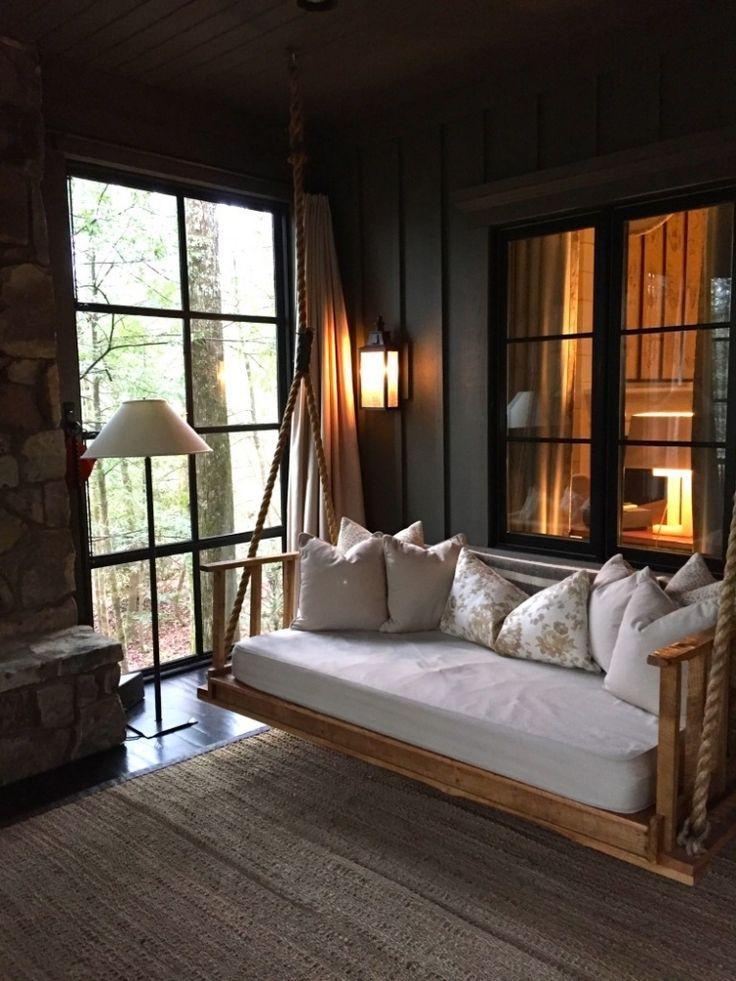 Garten Loungemoebel Aktuelles Design Freizeitbereich Schaukel Couch Kissen