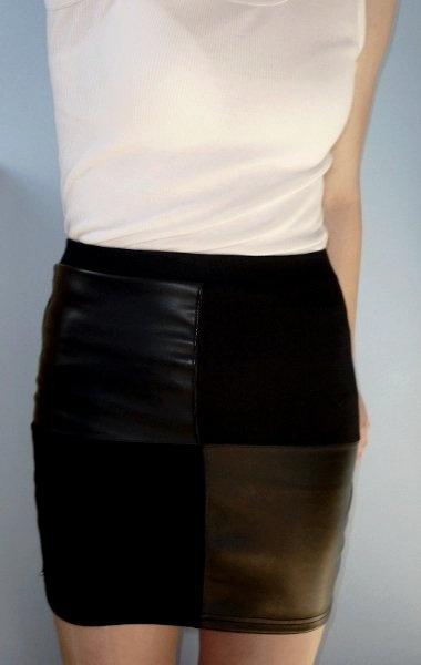 finally warm enough to wear a skirt