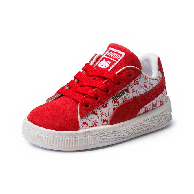 09e610f8c25 PUMA x Hello Kitty Kids Suede Classic Shoes