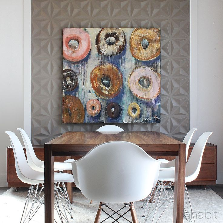25 best ideas about 3d wall painting on pinterest for Dining room 3d wall art