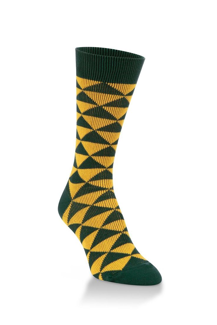 Support your favorite team in comfort with this World's Softest Team Crew. Whether you're at the stadium, at a local sports bar or in front of your TV, our Team Collection will have you on your feet even into overtime!    Gold Diamond Sock by World's Softest. Accessories - Socks Wisconsin