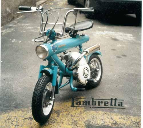 Lambretta Rosella J50 1964