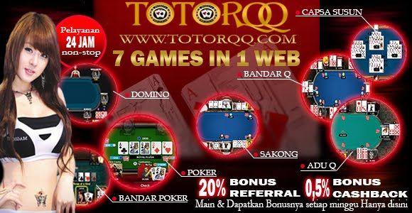 Bandar TotorQQ Online Terpercaya Infokan 5 Game Populer | TotorQQ