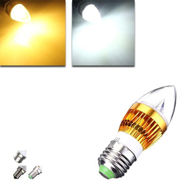 Wholesale Price Free Shipping E12 Led Bulbs E27 E14 B22 E12 4 5