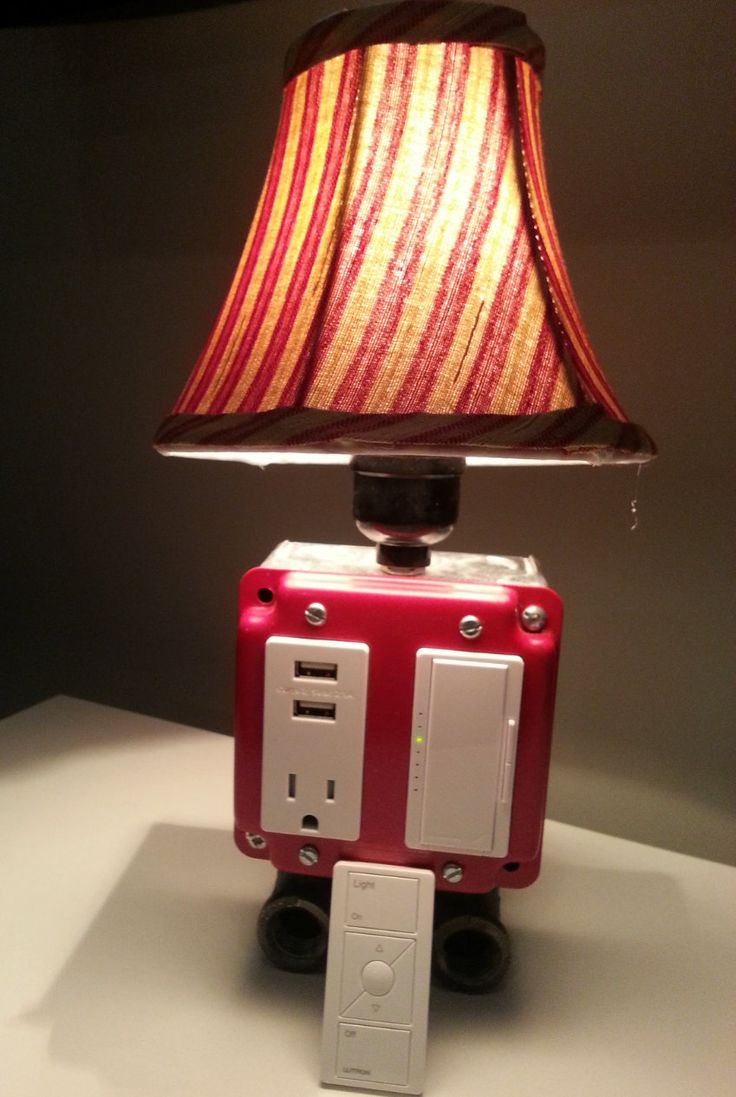 Usb Charging Lamp With Wireless Remote Amp Dimmer By