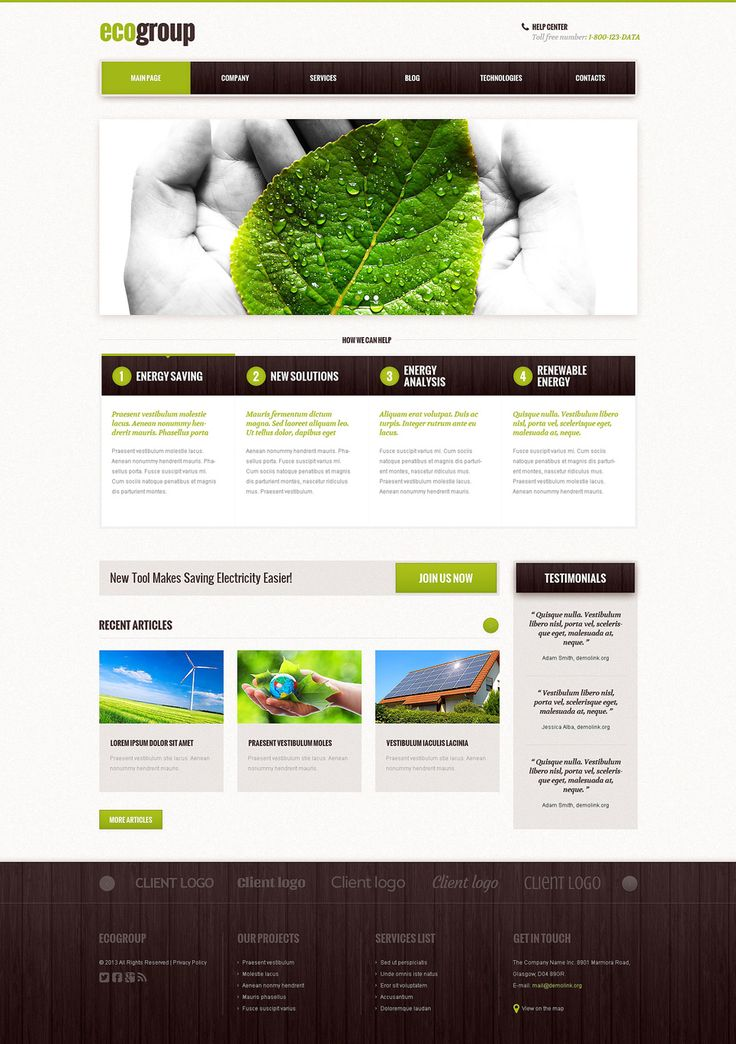 Best 12 Environmental & Clean Energy WordPress Themes (Solar, Wind and Recycling) - Alternative Power (template) Item Picture