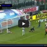 Video del resumen y goles entre América vs San Luis partido de la Jornada 11 del torneo Clausura 2013 Liga MX. Marcador Final: América 1-1 San Luis.