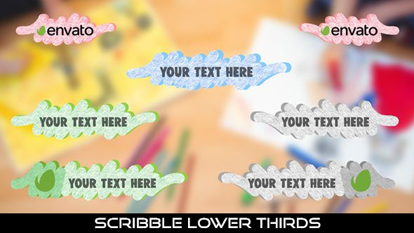 Scribble Lower Thirds  28 Lowerthirds | Full HD 1920×1080 | Quicktime PNG alpha codec | Each 10 seconds.  Available in 4 color : Blue, Red, White, Green  #videohive #motiongraphic #aftereffects #baby #caption #cartoon #corporate #doodle #funny #kids #lowerthird #paper #pencil #play #school #scribble #text #youtube