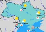 The Ukrainian climate is mostly dry with cold severe winters and hot summers.