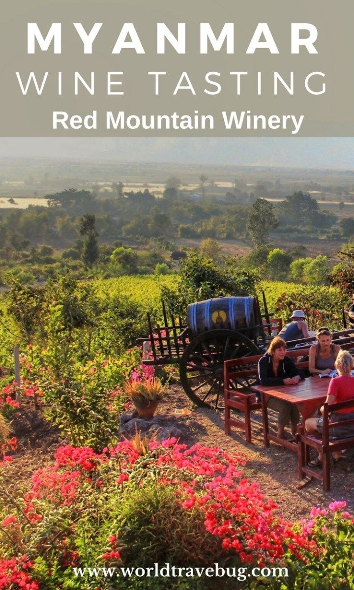 Is it France, Italy , Spain or….is it Red Mountain Winery, Myanmar