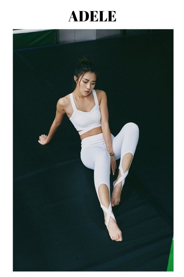 The ADELE combines femininity and functionality to give you a fresh take on the ballet-inspired legging. This full-length legging is available in basic black, crisp white, and arctic blue. Featuring a ballet-inspired bandage wrap, that extends from the ankle to create a stirrup bottom, these leggings are perfect for your favorite barre, yoga, or stretch class. The ADELE moves with you.