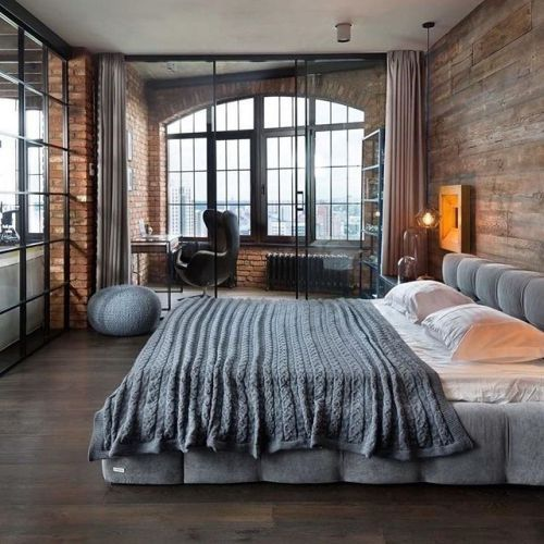 Industrial Loft by MARTINarchitects  #luxury #luxuryhome #architect #luxuryhouse #arquitectura #luxurylife #luxurylifestyle #mansion #loft #bighouse #bighouses #lights #homes #bedroom #homestyle #homestead #homestyling #house #houses #architecture #architectureporn #design #modern #architects #bed #interior #interiordesign  All credits correspond to photographerdesignercreator - Architecture and Home Decor - Bedroom - Bathroom - Kitchen And Living Room Interior Design Decorating Ideas…