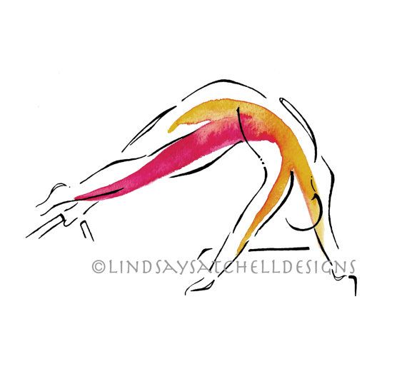 Pilates art print - snake pose by Lindsay Satchell Designs #pilates #pilateslovers https://www.etsy.com/listing/251054524/pilates-art-print-snake-pose?ref=shop_home_active_18