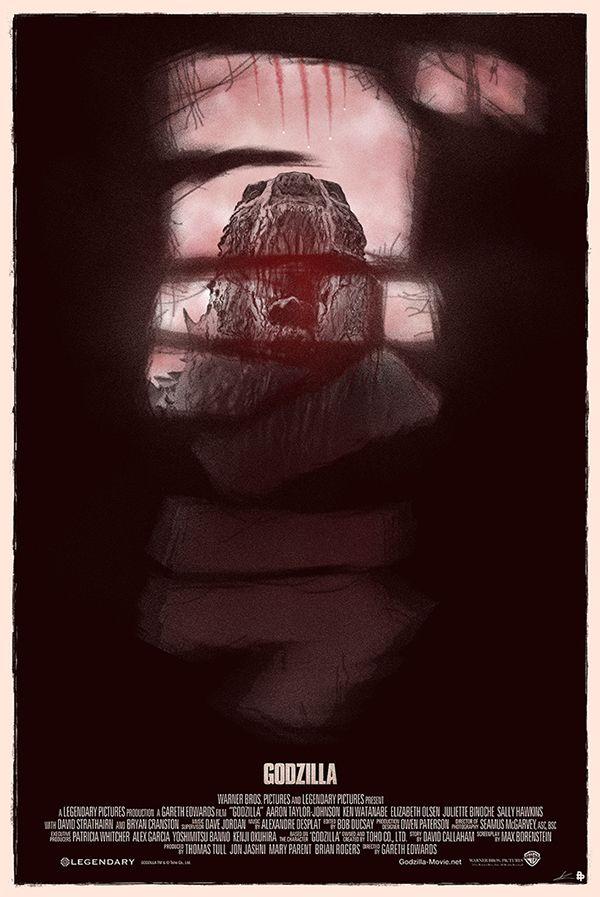 Releituras de cartazes de filmes famosos, por Marko Manev - O ilustrador freelancer Marko Manev decidiu utilizar seu estilo de arte ao fazer releituras de diversos cartazes, de filmes bem conhecidos como Star Wars, Capitão América, Godzilla, entre outros.