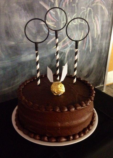 Harry Potter birthday cake idea!