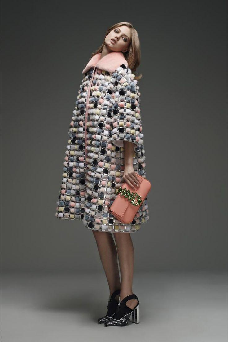 Меховая мозаика: 25 ярких и оригинальных шубок - Ярмарка Мастеров - ручная работа, handmade