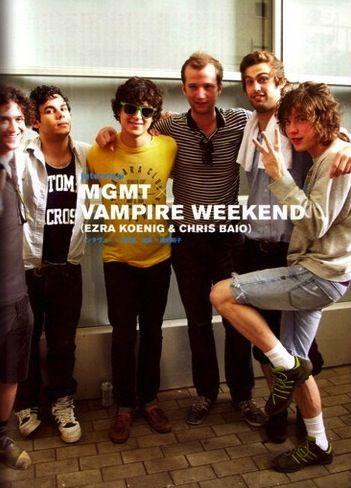 MGMT: Mgmt Wvampir, Bands Singers Mus, W Vampires Weekend, La Musica, Mgmt Vampires Weekend, Mgmt W Vampires, Amazing Bands, Movie Music People, Music Artists
