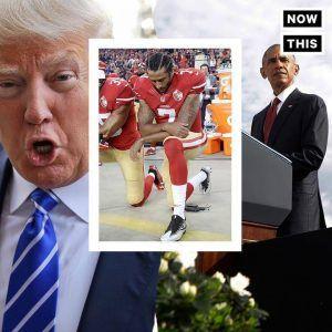 So tellingCompare Trump vs. Obama on Colin Kaepernick. Speaks volumes. #news #alternativenews