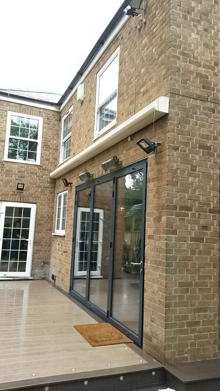 Smart, compact shading for your bifold doors by Deans Blinds & Awnings