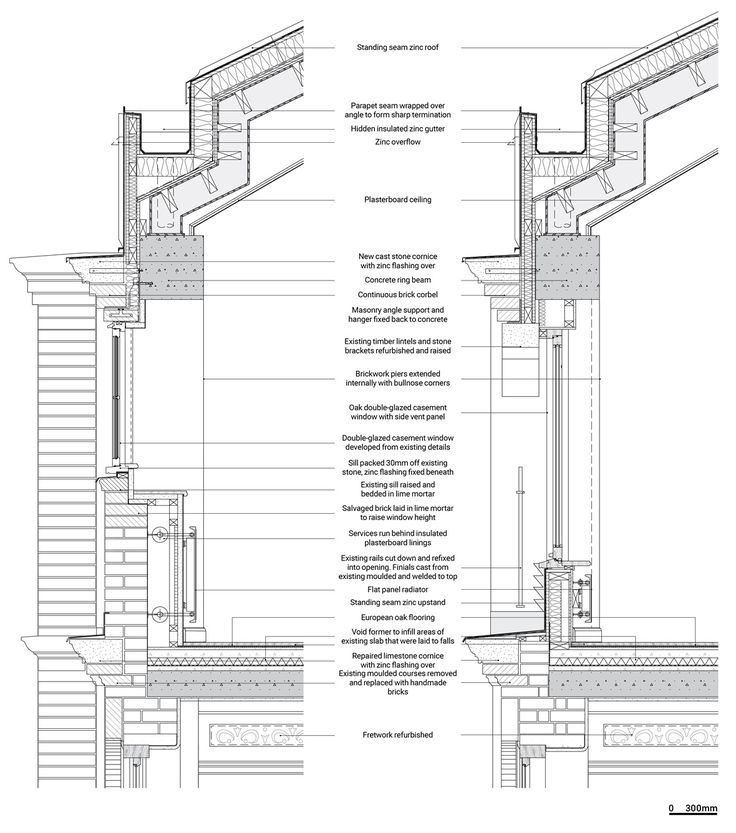 2151 best images about detail on pinterest social for Mansard roof section