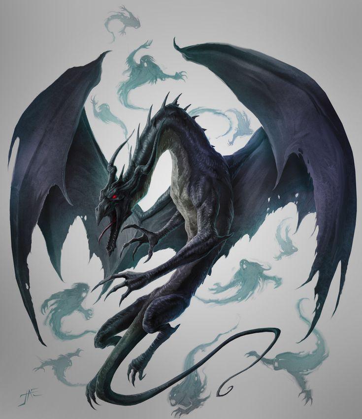 Теневой дракон картинки