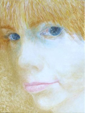 "Saatchi Art Artist Maria Westra; Painting, ""DANA"" #art"