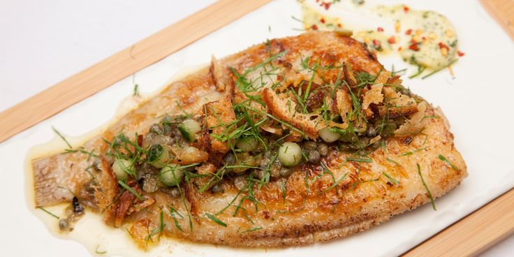 Inspired by his early career, Eric Chavot dishes out the perfect recipe for sole grenobloise.