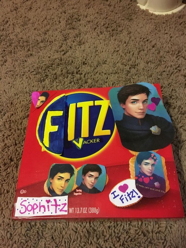 Transform Ritz Crackers into Fitz Vacker!!!!! I ke…