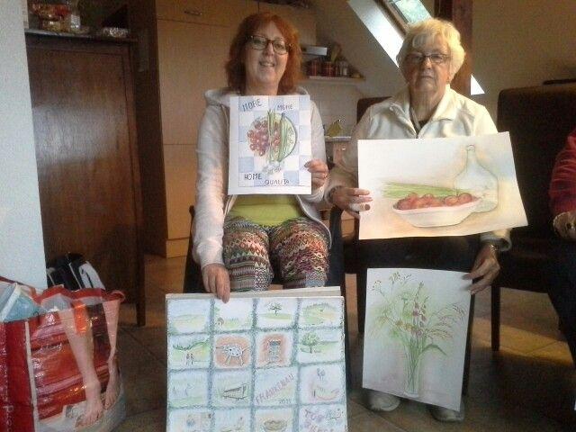 Frankenau 2015, Annemarie Develing en Ge Mol
