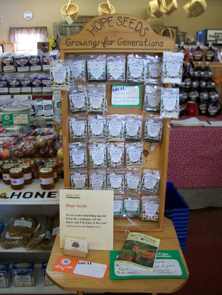 Hope Seeds are now available at the market